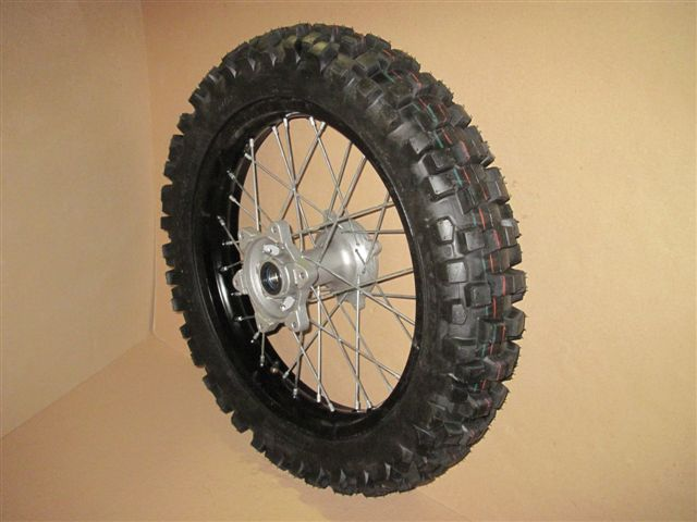 Rear wheel 18\'\' (complete set with off-road tire)