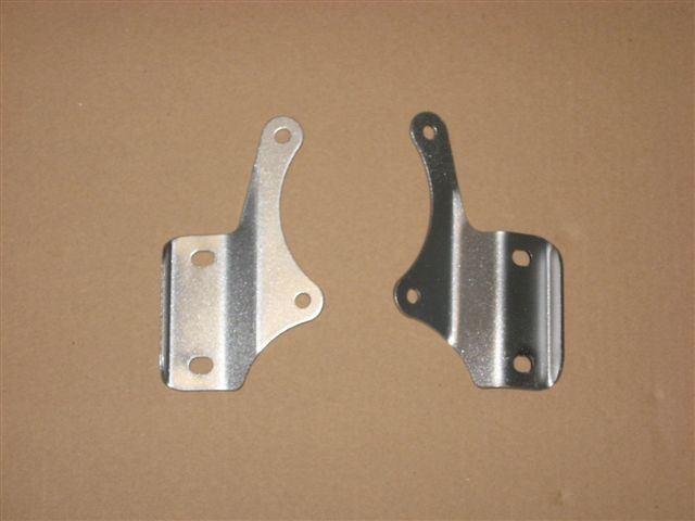 Brackets for engine mounting