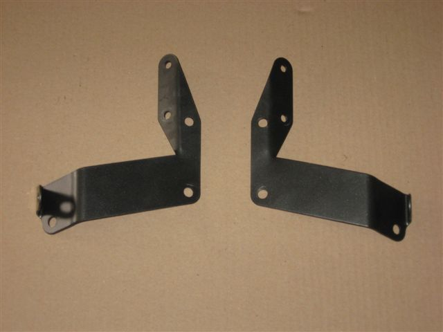 Brackets for air inlet guides mounting