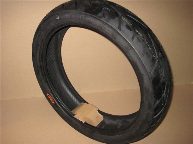 Outer tire (CST, tubeless) 130/70 x 17'' (rear)