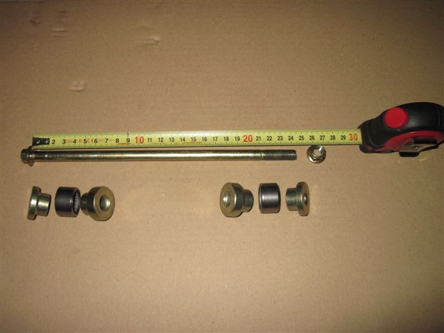 Bearing set (8 pcs.) swing arm