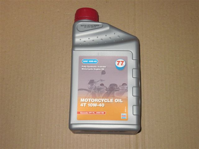 Oil (full-synthetic) for 4-stroke motorbike engines SAE10W40
