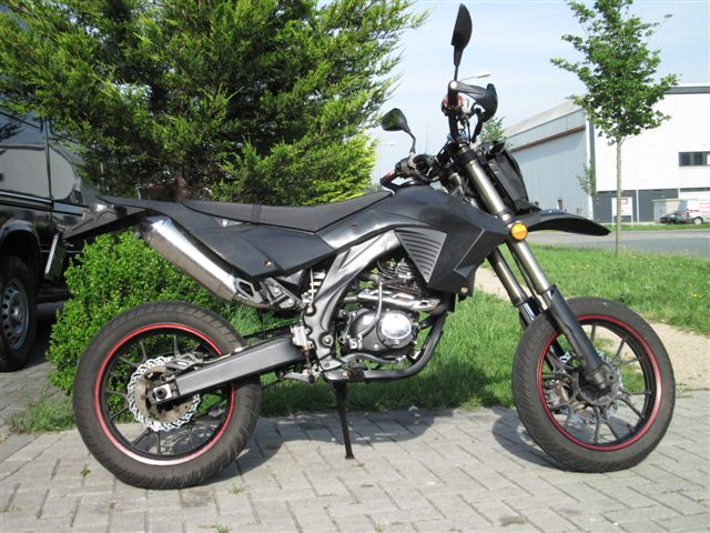 RX50 Xtreme streetlegal 70cc black-edition (SPECIAL ONE)