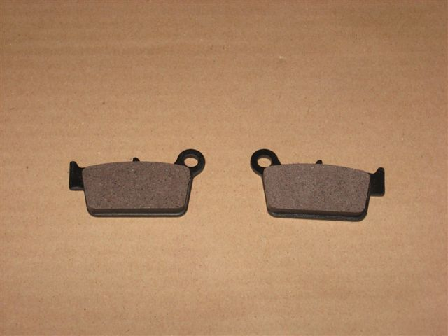 Brake pads (2 pcs., rear, old version) RX50