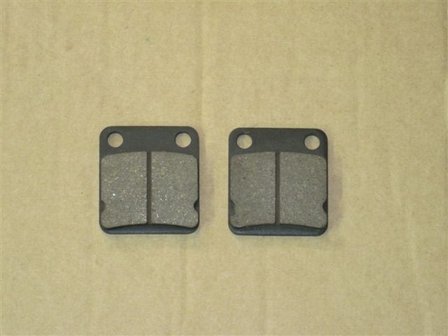 Brake pads (rear, set of 2 pieces)