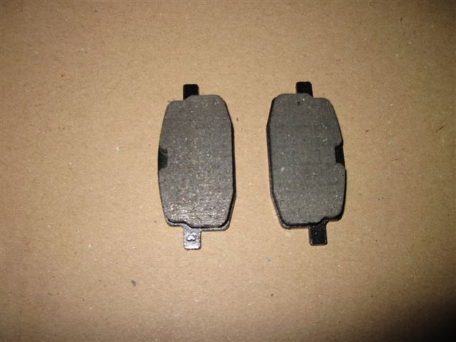 Brake pads front (set of 2 pieces)