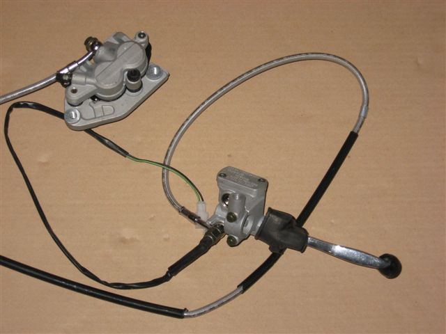 Hydraulic (front) brake system