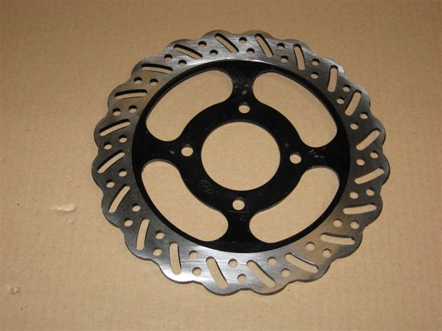 Brake disc rear 220mm