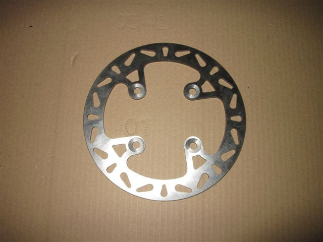 Brake disc Nox (front) 200mm (old style hub)