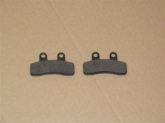 Brake pads rear (new version)