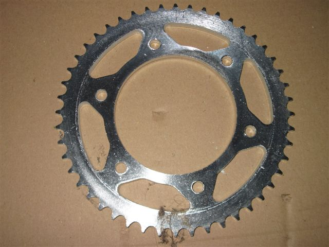 Sprocket 48 teeth, 428 type, EVO50 wheels