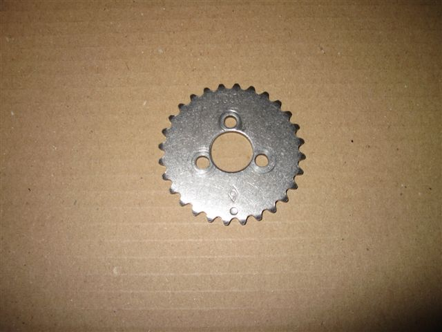 Sprocket cam shaft