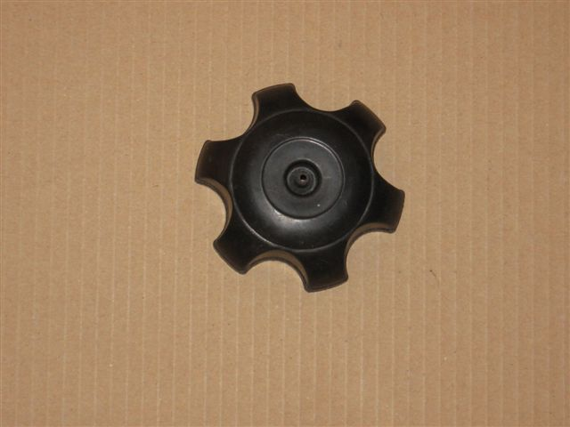 Gas cap (black, plastic)