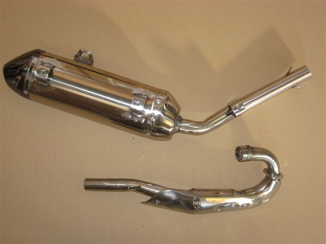Exhaust 250cc EEC approved (with catalyst)