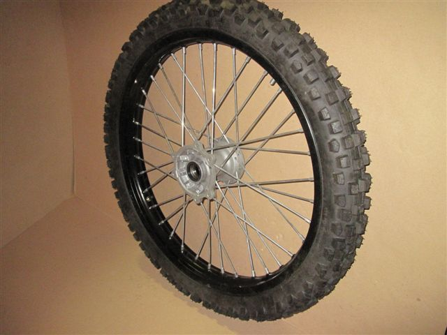 Front wheel 21'' (complete set with off-road tire)